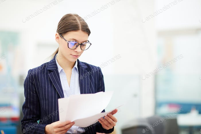 Young Business Student