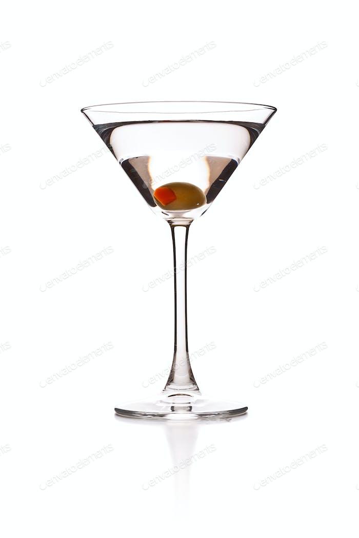 Martini mit Oliven