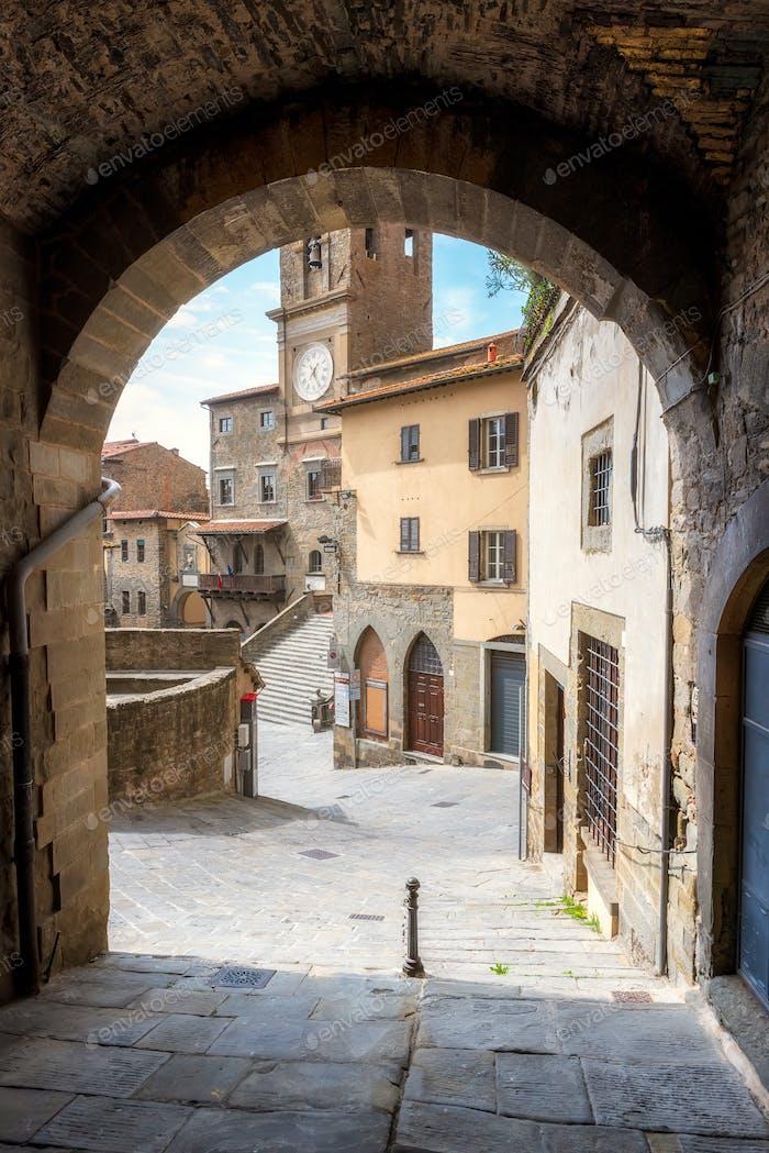 Toskana mittelalterliche Architektur