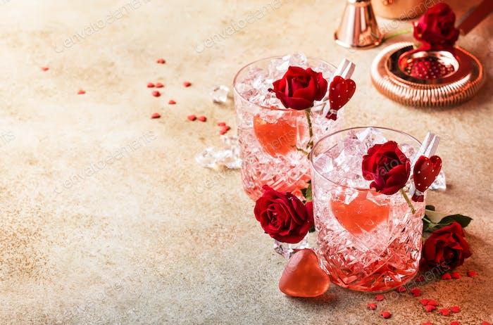 Cóctel de San Valentín