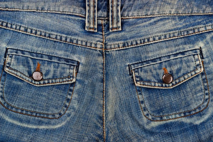 blue jeans pockets