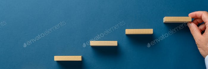 Conceptual image of strategy and promotion