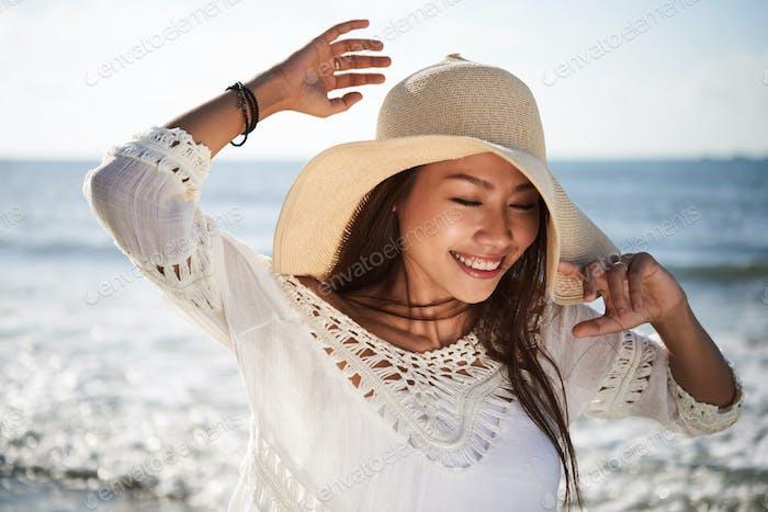 Genießen Sie sonnigen Tag