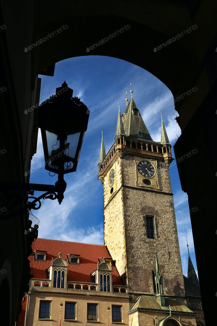 Town Hall Tower (Staromestska Radnice), Prague, Chech republic