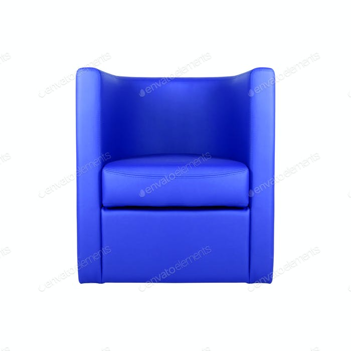 Arm chair isolated