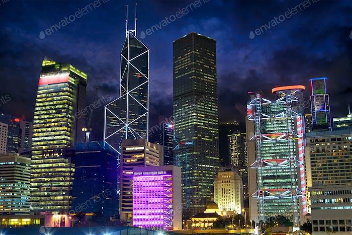 Hong Kong urban architecture