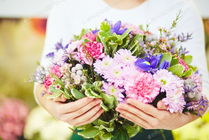 Großer Blumenstrauß
