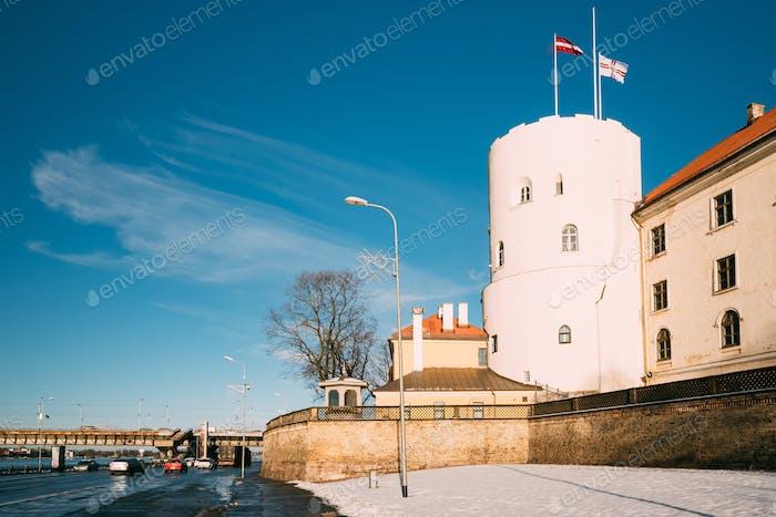 Latvia Riga Castle, Famous Landmark, Official President Residenc