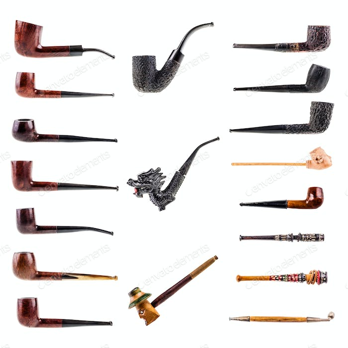 Pipes collection