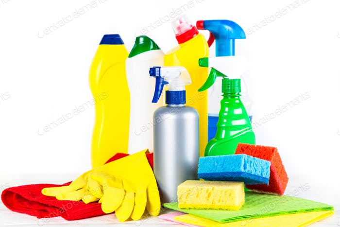 Reinigungsmittel, Haushalt