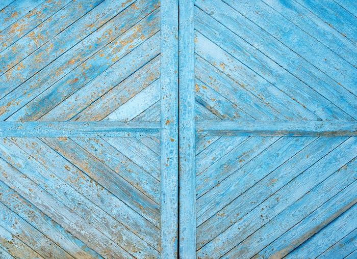 Wooden blue grunge texture