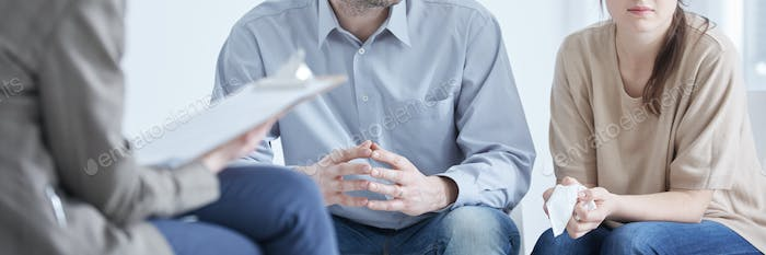 Divorce mediation with psychologist