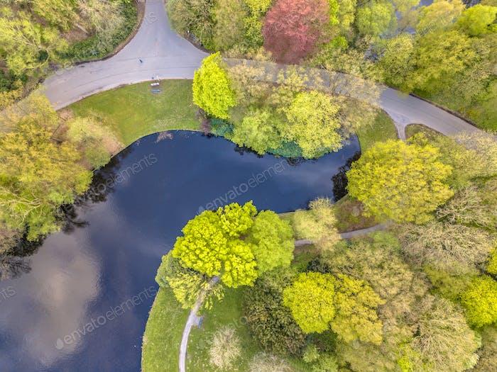 Park detail aerial