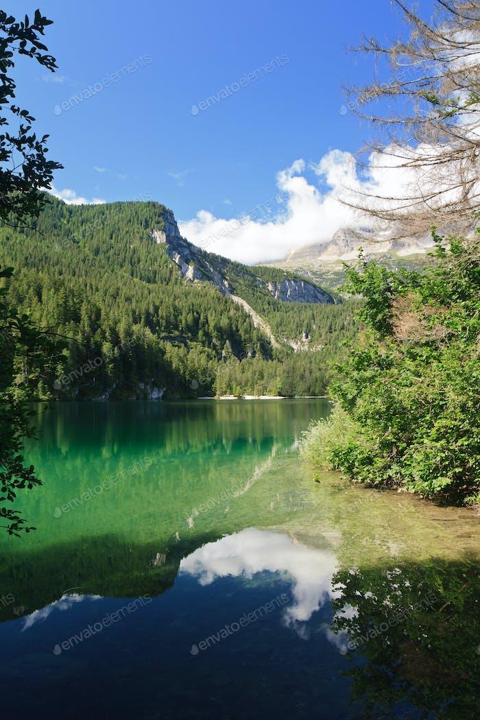 Tovel Lake, Trentino, Italy