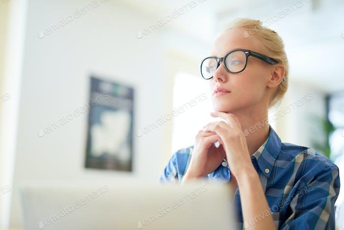 Thinking of work