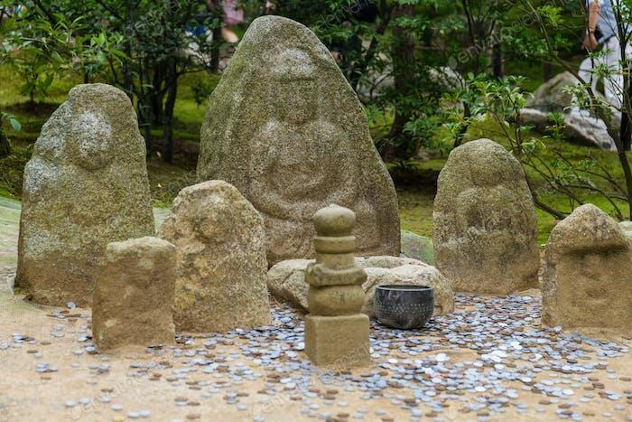 Nagomi-Jizo in japanese temple