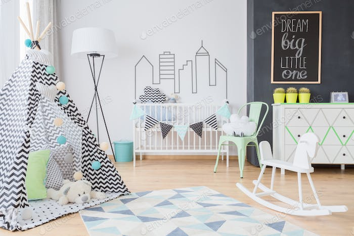 Scandinavian inspirations for a little adventurer's room
