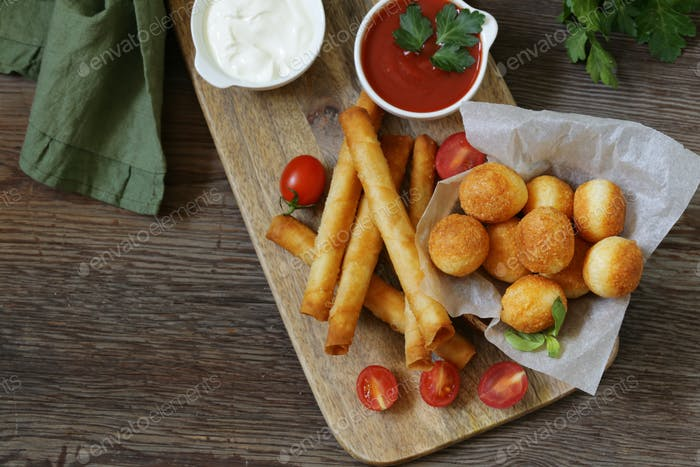 Snack Fried Pies with Cheese