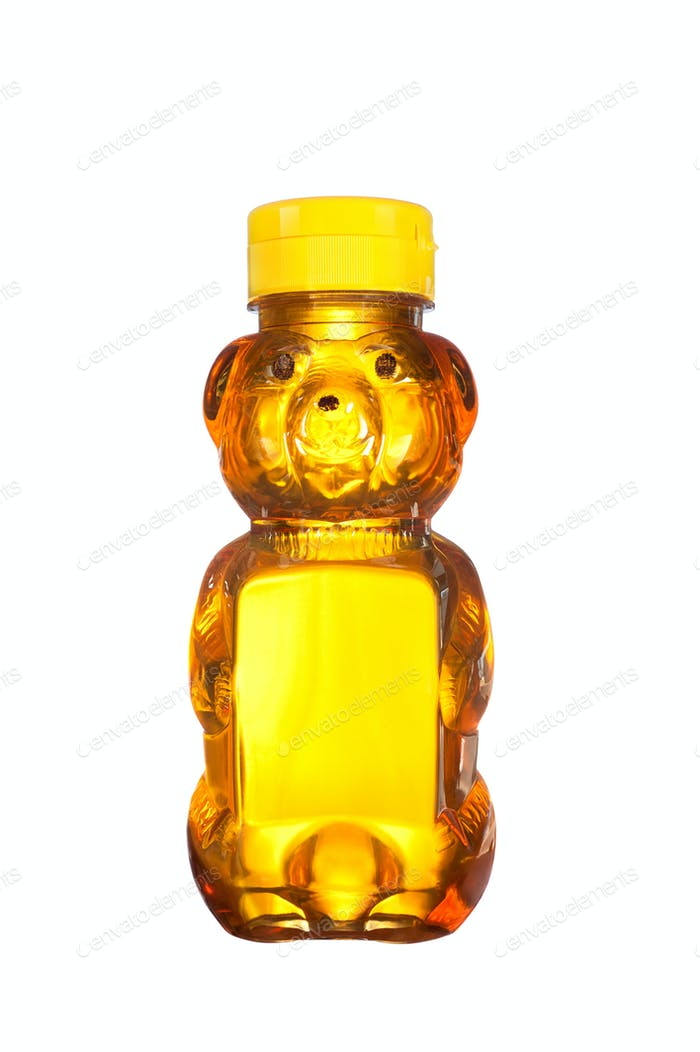 Bottle of honey