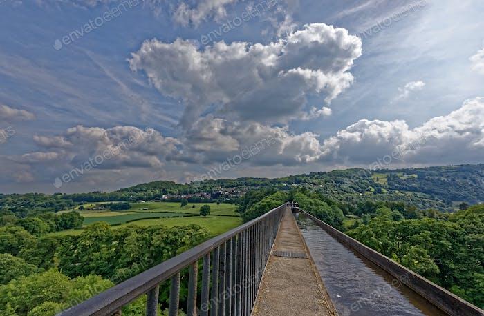 Pontcysyllte Aqueduct; Trevor, Wales, UK