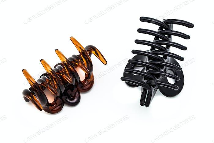 Two hair clip