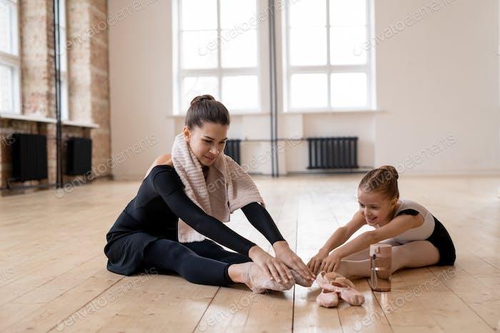 People at ballet school