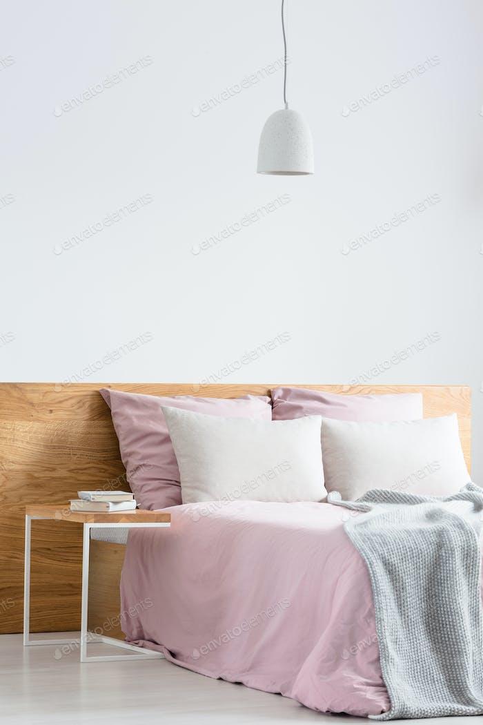 Minimalistic style bedroom