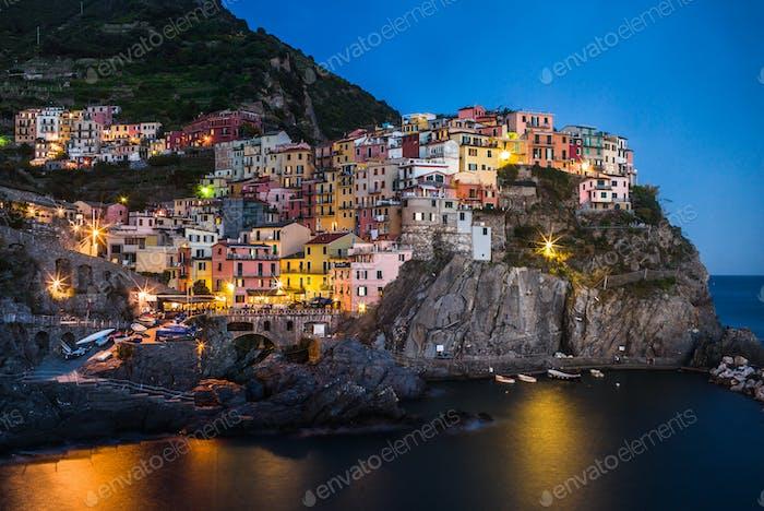 Manarola village, Italy