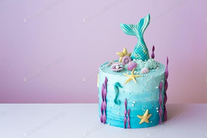 Mermaid birthdaycake