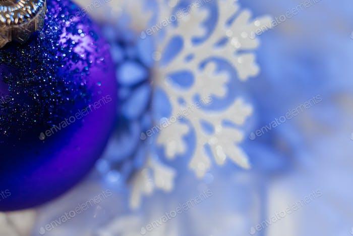 new year ice ball tree decoration snowflake