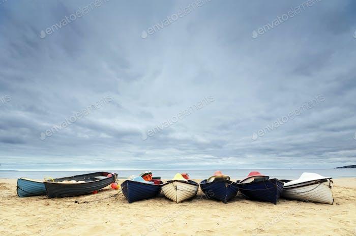 Fishing Boats on Bournemouth Beach
