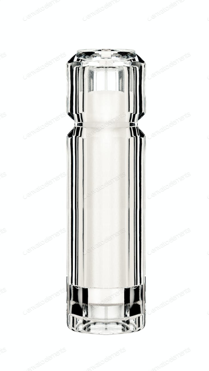close up of salt shaker isolated