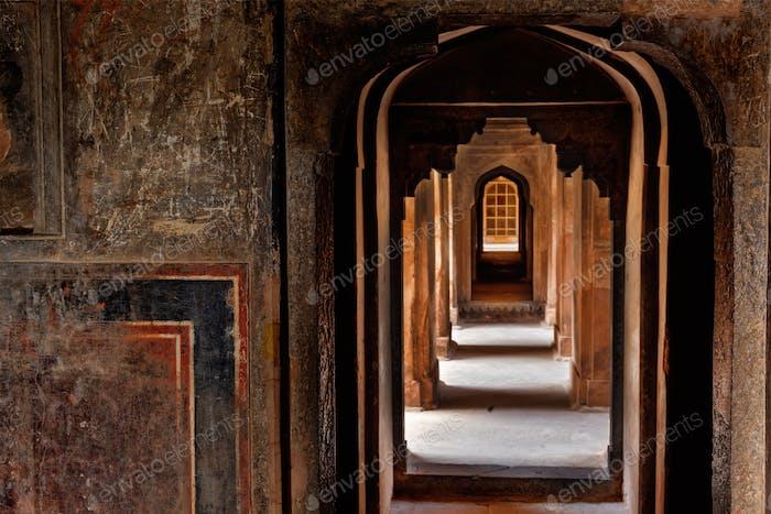 Datia palace in Madhya Pradesh, India