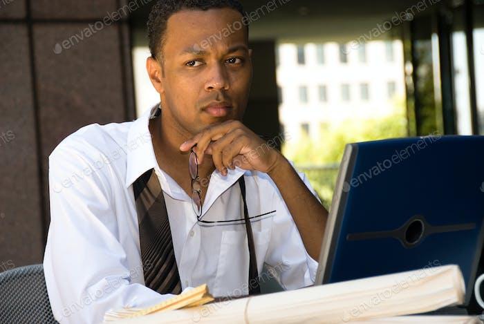 African American Executive Businessman