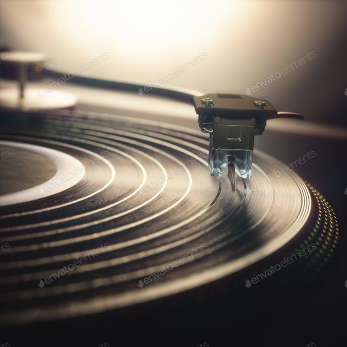 Vinyl Record Retro Vintage