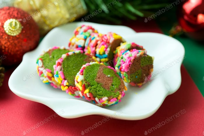 Christmas theme cookies