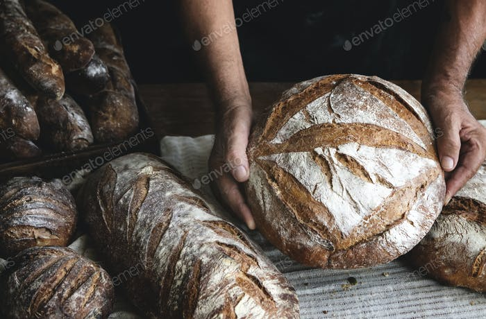 Bread loaves food photography recipe ideas