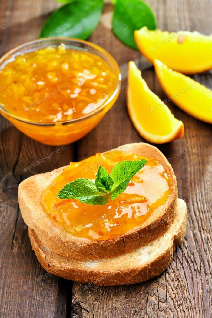 Citrus orange jam