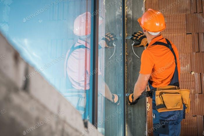 Instalación de ventanas de edificios Comercial