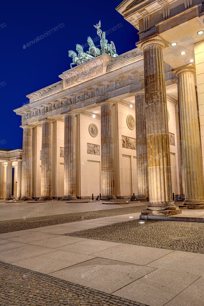 The famous Brandenburger Tor
