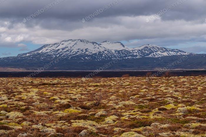 Ландшафт национального парка Тингвеллир, Исландия