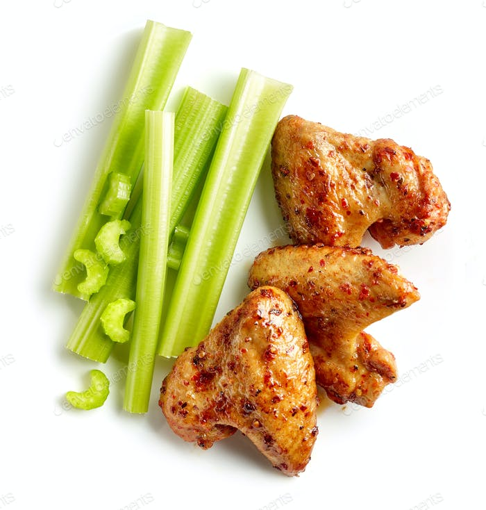roasted spicy chicken wings