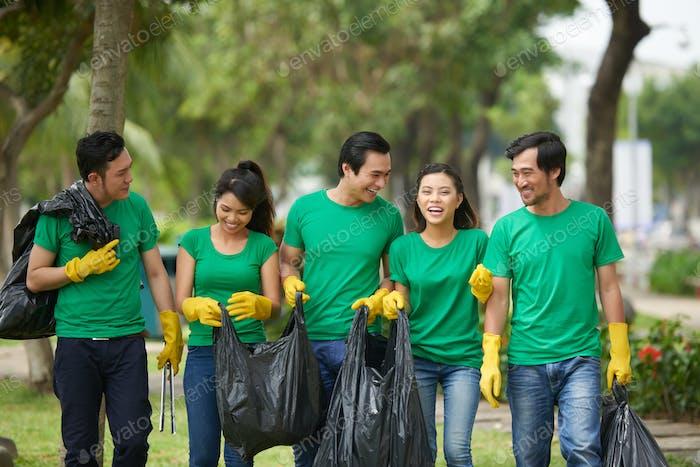 Umweltaktivisten