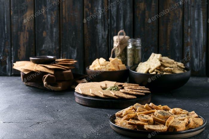 Auswahl an Snacks