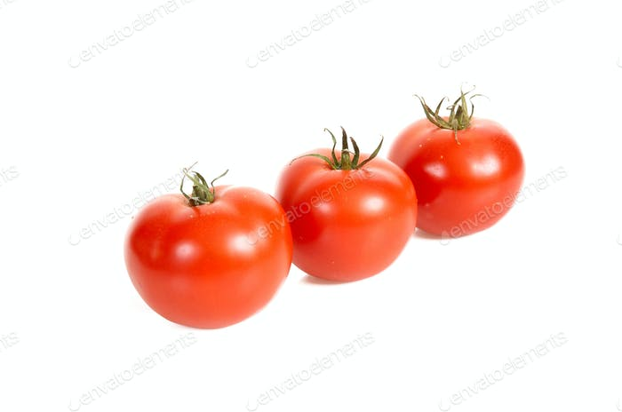 Three tomatos.