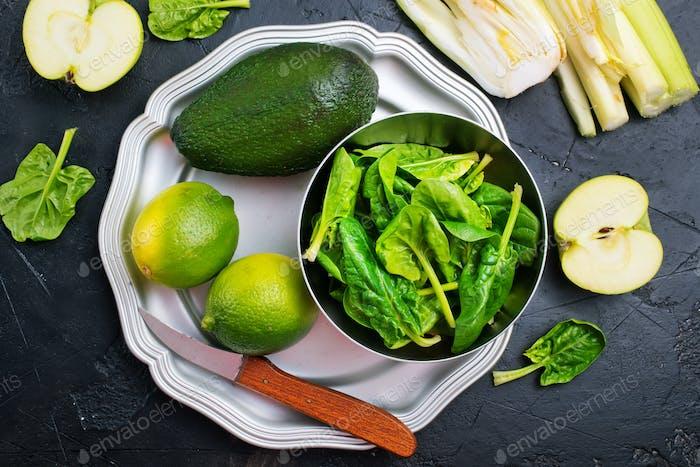 aliments verts