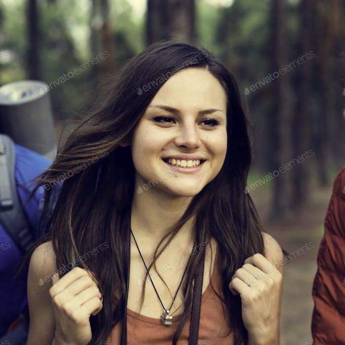 Person Reisenden Reiseziel Konzept
