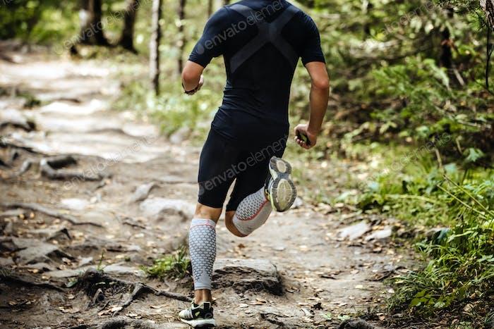 Explosive Running Marathon Runner