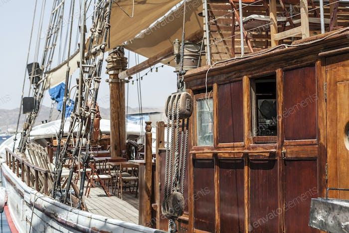 Vintage Looking Ship