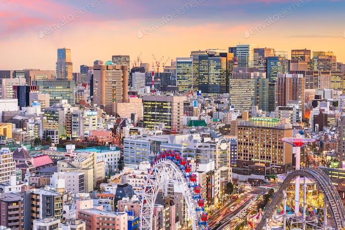 Bunkyo Ward, Tokyo, Japan Cityscape